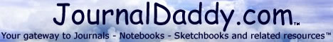 JournalDaddy.com - Your gateway to Journals - Notebooks - Sketchbooks and related resources™